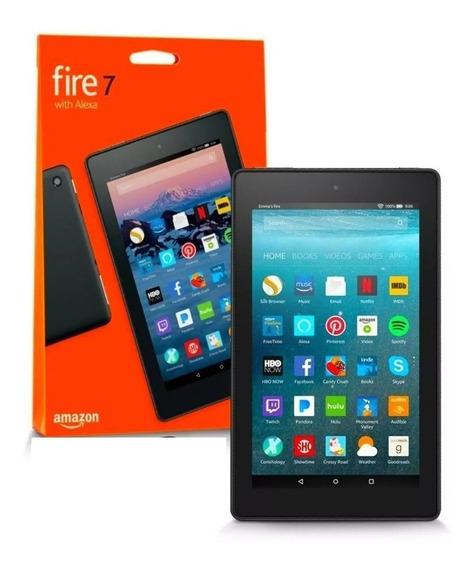 Tablet Kindle Amazon Fire 7 Quad Core Alexa 16gb 2019