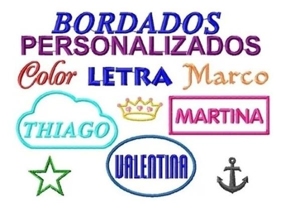 Etiqueta Parche Nombres Bordados Jardín Uniformes Para Coser