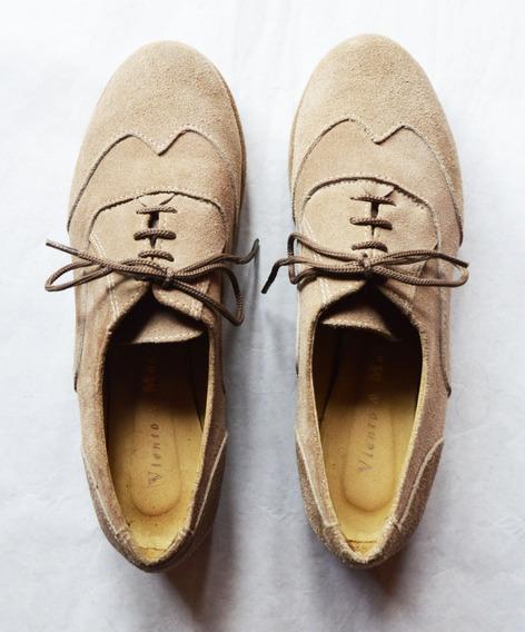 Zapatos Gamuza Viento Y Marea Talle 36 Casi Nuevos 1 Uso!