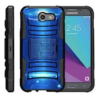 Turtlearmor | Samsung Galaxy J3 Emerge Caso | J3 2017 | Amp