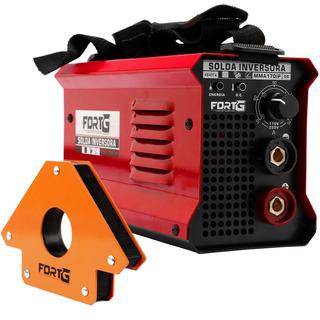 Kit Máquina De Solda Inversora Mma170ip 170a Bivolt Fortg Pr