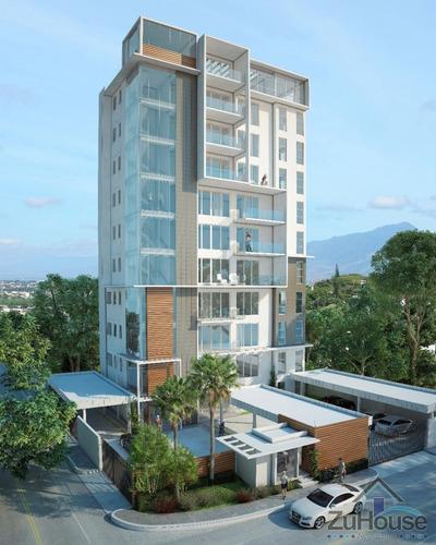 Apartamento Con Patio En Exclusiva Torre, Santiago Wpa106 A