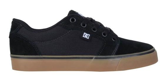 Tênis Dc Shoes Anvil La Adys300200r-bgm Black Gum