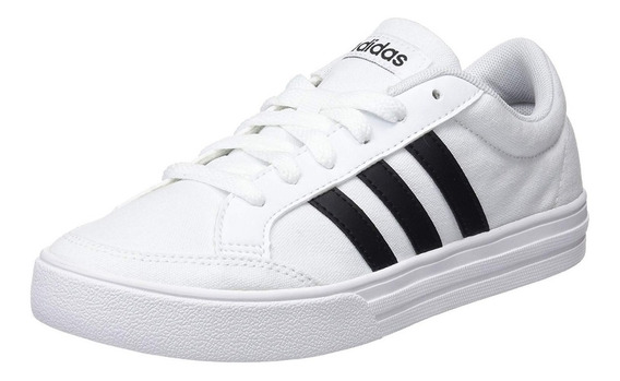 Tenis adidas Hombre Blanco Vs Set Casual Clásico Aw3889