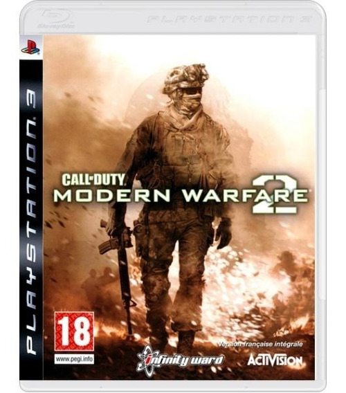 Call Of Duty Modern Warfare 2 Cod - Mídia Física / Ps3