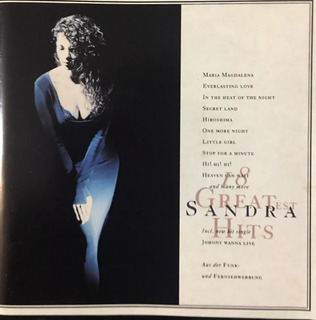 Cd - Sandra Cretu - 18 Greatest Hits Importado Ingles