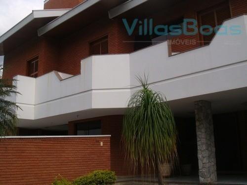 Casa Com 4 Dormitórios À Venda Por R$ 2.000.000 - Jardim Aquarius - São José Dos Campos/sp - Ca0181