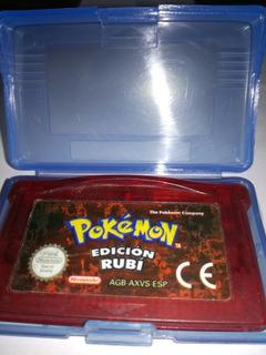 Juego De Game Boy Advance( Pokemon Ruby En Español)