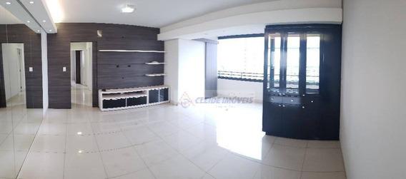 Apartamento Edificio Coral Gables Com 3 Dormitórios À Venda, 110 M² Por R$ 500.000 - Consil - Cuiabá/mt - Ap1495