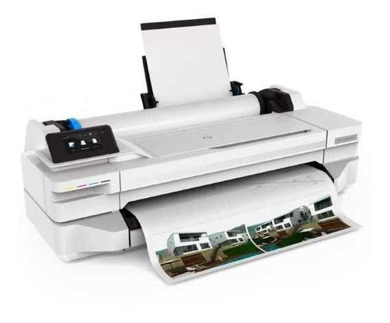 Impressora Plotter Hp T130 24 Com Bulk Ink Instalado