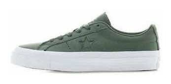 Converse One Star Low Olive Submarine Couro - Na Caixa 42.5
