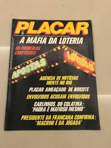 Revista Placar Numero 649 Outubro De 1982