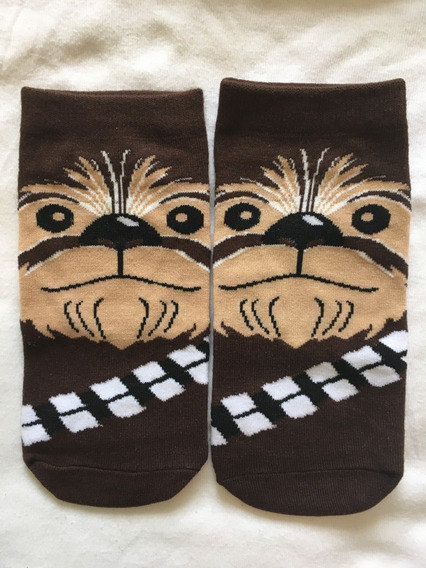 Calcetines Star Wars Chewbacca R2d2 Darth Vader Fotos Reales