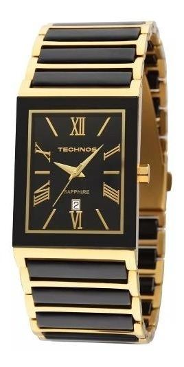 Relógio Technos Feminino Cerâmica Vidro Em Saphire 2015cf/4p