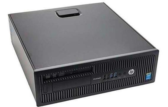 Pc Desktop Sff Hp 600 G1 Intel Core I3 4gb Ram Ssd 120 Win 7