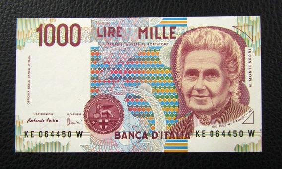 Italia Billete 1000 Liras P 114 C Unc 1990