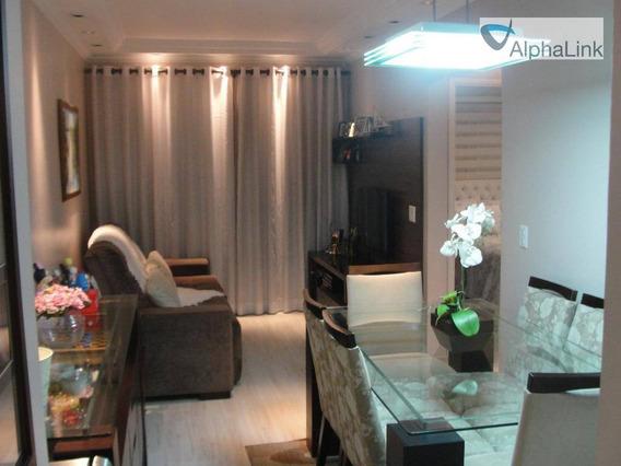 Apartamento 2 Dormitórios E 2 Vagas - Ap0551