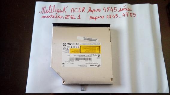 Gravador De Cd/dvd Para Notebook Acer Aspire 4745-4785