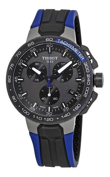 Tissot T Race T111.417.37.441.06 Cycling Azul Lançamento