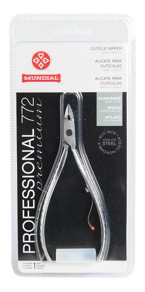 Mundial Alicate Profesional Premium Cutículas Manicuría 772