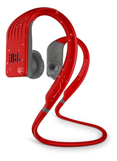 Fone Sem Fio Jbl Endurance Jump Red Bluetooth À Prova D