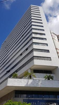 Sala Para Alugar, 76 M² Por R$ 4.200/mês - Espinheiro - Recife/pe - Sa0082