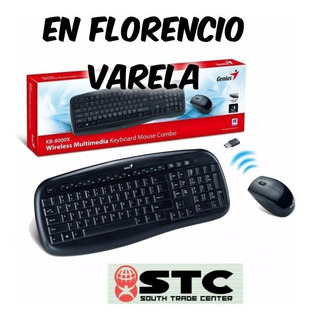 Kit Combo Teclado Y Mouse Genius Wireless Kb-8000x F Varela