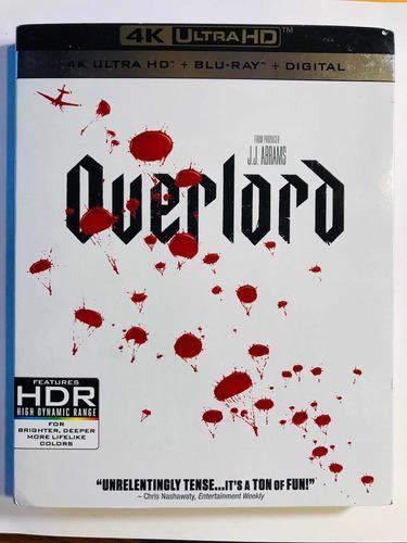 Overlord 4k Blu-ray
