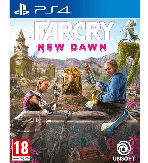 Farcry New Dawn - Ps4 Midia Fisica