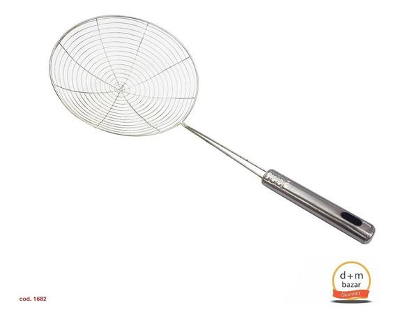 Colador Araña Galvanizado 19cm. D+m Bazar