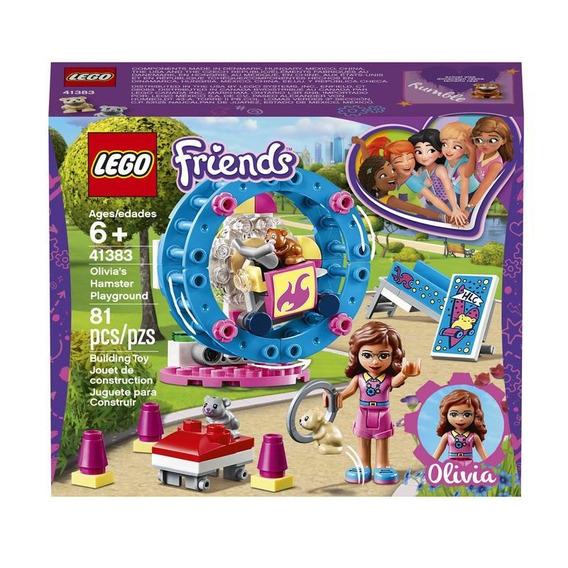 Lego 41383 Parque Del Hámster De Olivia