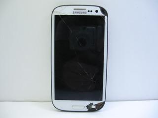 Samsung Galaxy S3 Gt-i9300 Não Liga Tela Touch Trincados Ler