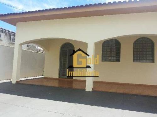 Casa Com 3 Dormitórios Para Alugar, 197 M² Por R$ 3.500,00/mês - Ribeirânia - Ribeirão Preto/sp - Ca0241