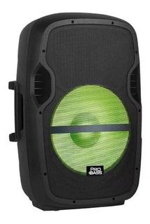 Parlante Amplificado Pro Bass 15 Microfono Auxiliar