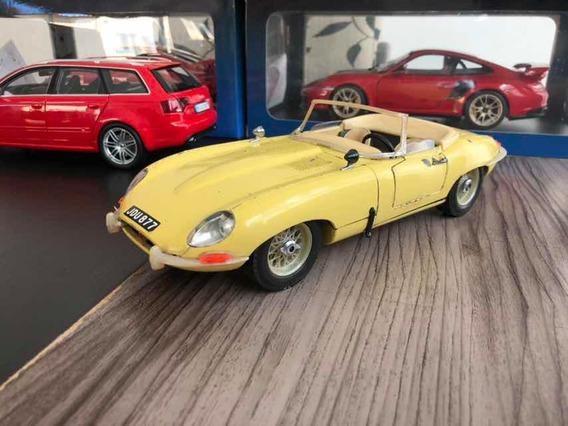 Jaguar E 1/18 Burago Sucata!!!!!