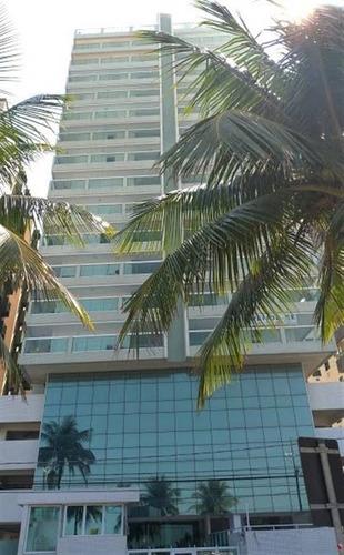 Imagem 1 de 15 de Apartamento Frente Mar 2 Dormitorios 1 Suite Em Praia Grande - Mar174