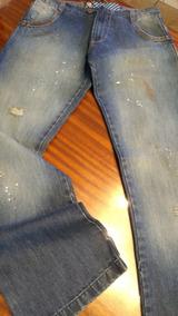 396d34920 Pantalon Jean Roll Con Efecto Manchas T Medium