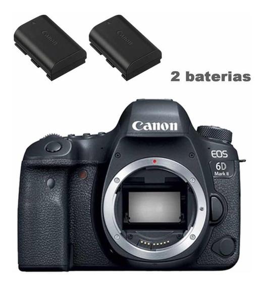 Câmera Canon Eos 6d Mark Ii Corpo+ Bolsa+ Tripé + 32gb+ Bat.