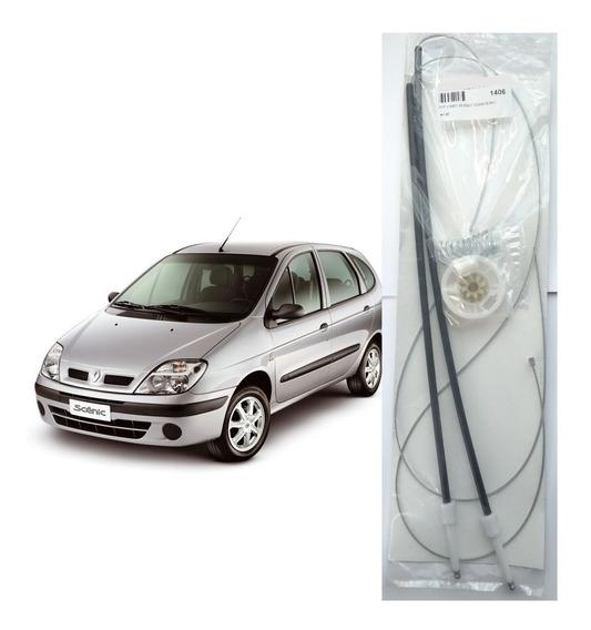Kit Reparo Maquina Vidro Eletrico - Renault Scenic 4p. Diant