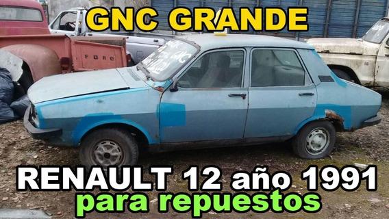 Renault 12 Año 1991 Gnc Para Repuestos