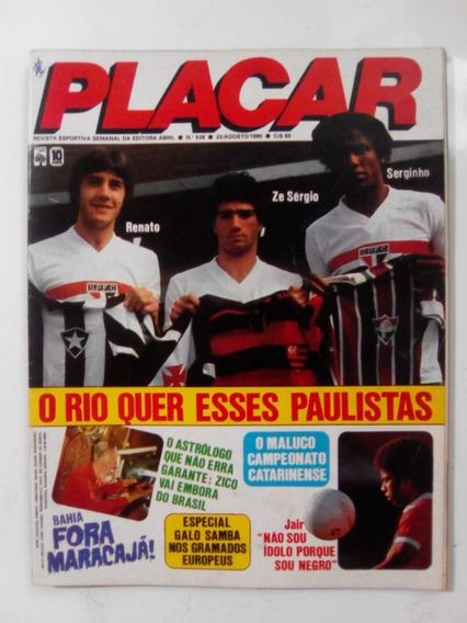 Revista Placar 538 P São Paulo Inter Santos Atletico Mg 1980