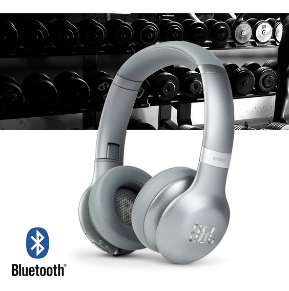 Fone De Ouvido Headphone Jbl Everest V310 Bt Bluetooth Prata
