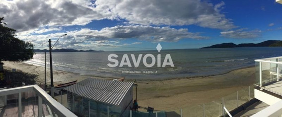 Lindo Geminado, Frente Para O Mar À Venda Na Praia Do Perequê Em Porto Belo - 1663