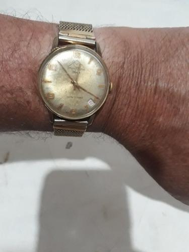 Relógio Antigo Mondaine  De Pulso Funcionando ! Leia !
