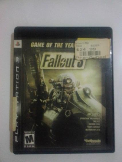 Fallout 3 Ps3 Mídia Física Seminovo