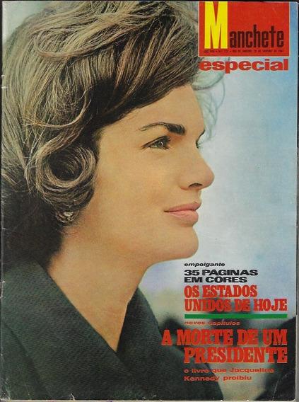 28/01/1967 Revista Manchete Nº 771 Capa Jacqueline Kennedy