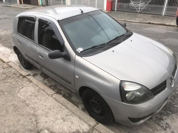 Renault Clio 2006, Authentique Motor 1.0 Econômico. Em Dia.