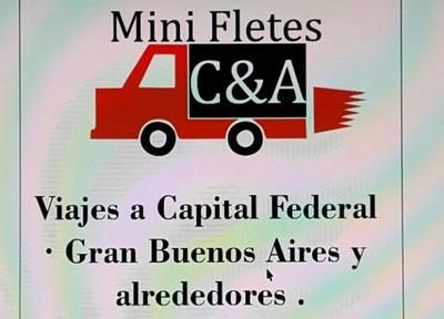 Fletes Envios Miniflete Mudanza Repartos C&a