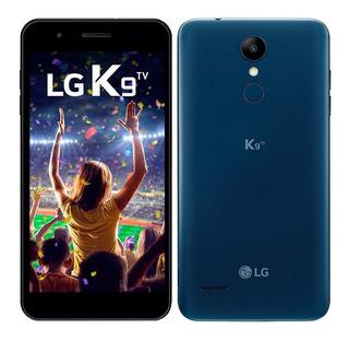 Smartphone Lg K9 Tv,azul, Tela 5,câmera 8mp,16gb, Tv Digital