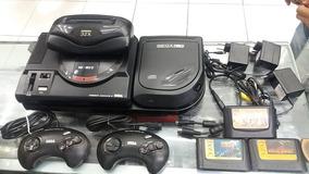 Megadrive, Sega Cd E Mega 32x, Conjunto, 3 Jogos Originais
